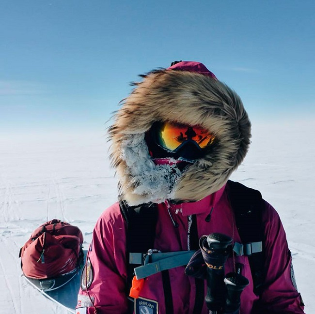 Hameister was successful in achieving the Polar Hat
