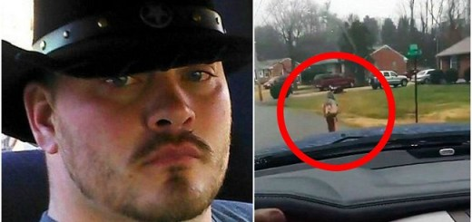 Egoistical Dad Forces Bully Son To Run To School In Rain While He Records It For Social Media