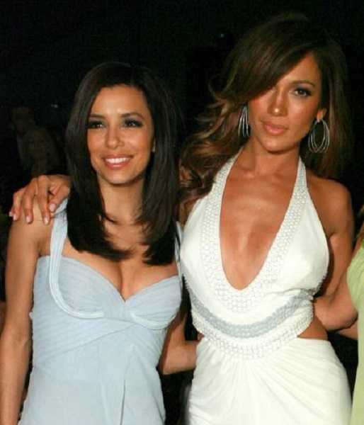 Jennifer Lopez and Eva Longoria
