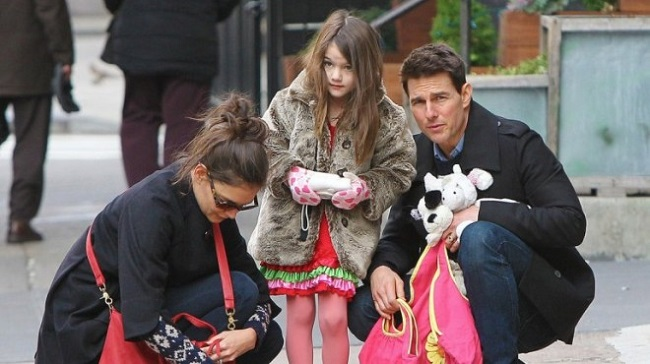tom cruise with daughter