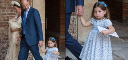 Princess Charlotte Made a Savage Comment to The Paparazzi at Prince Louiss Christening