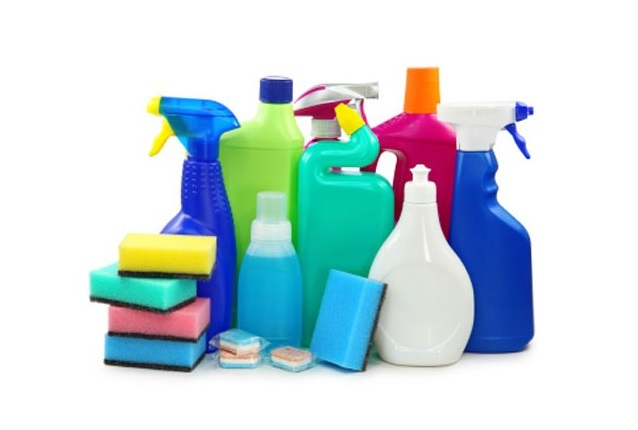 Toiletries and cleaning products