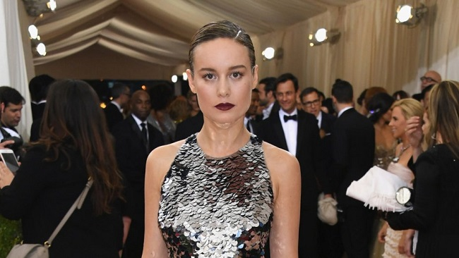 Brie larson withoutt eyeliner