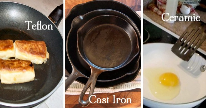 Using the wrong cookware