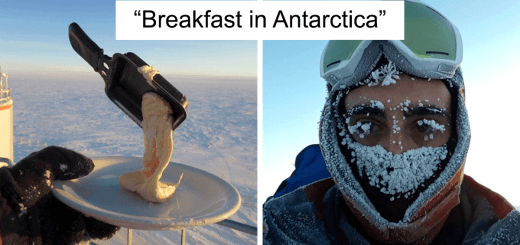 Astrobiologist Shows What Happens When You Try to Cook in Antarctica