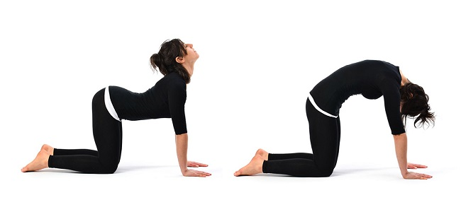 Stretch to relieve back pain
