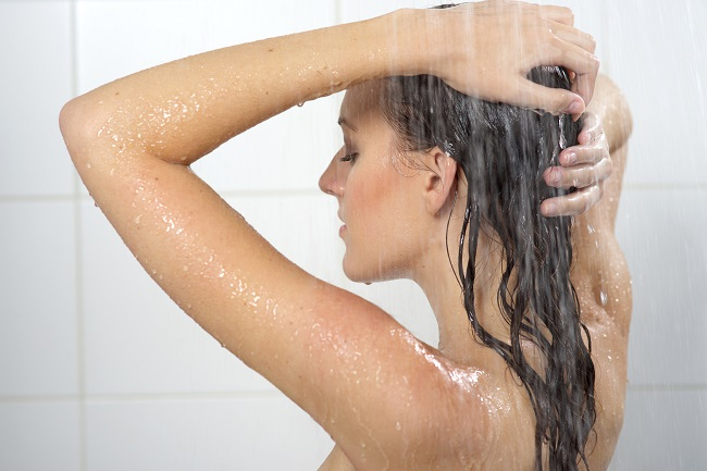 What do women do in the shower for so long