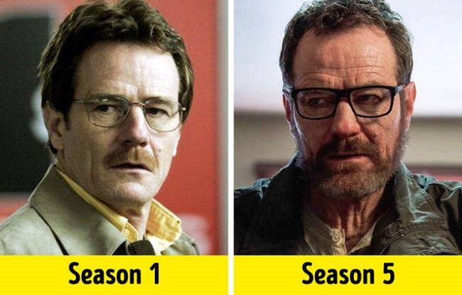 Walter White from 'Breaking Bad'