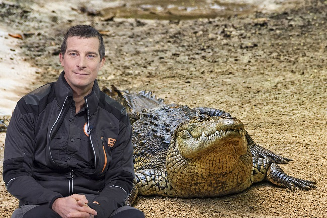 He Staged A Caiman Confrontation