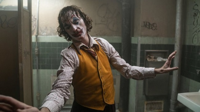 Hehad tolose almost 45pounds toplay the Joker.