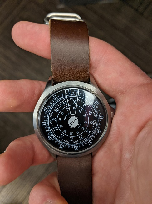 A very unique watch