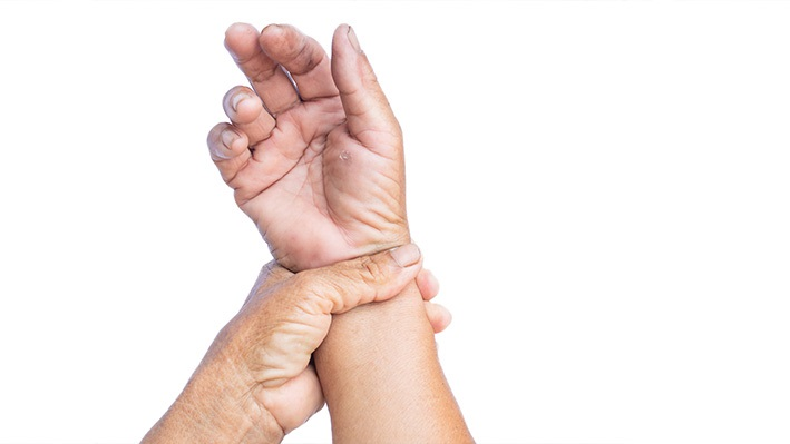 The signs of nerve damage