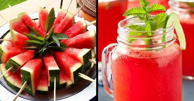 Watermelon for water retention