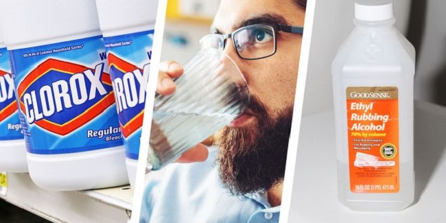 The consequences of drinking bleach or disinfectant