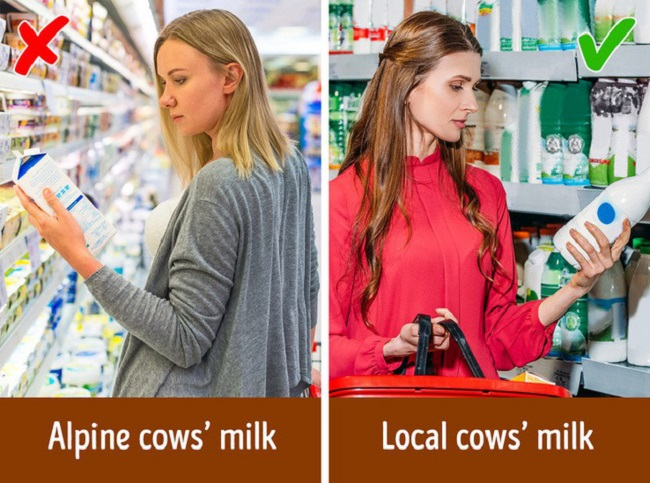You should choose to buy local goods
