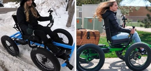 """Man Designs Awesome """"Off the Road Wheelchair"""" For Handicapped Wife to Travel Again and Now It's In Mass Production"""