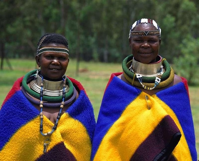 Africa's Ndebele tribe