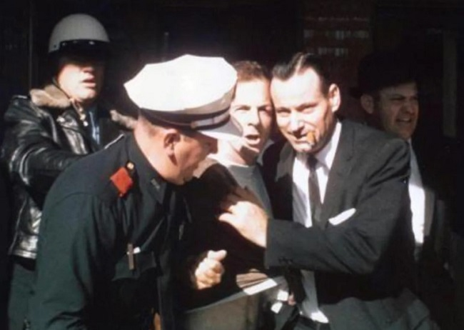 Oswald was arrested in a movie theater