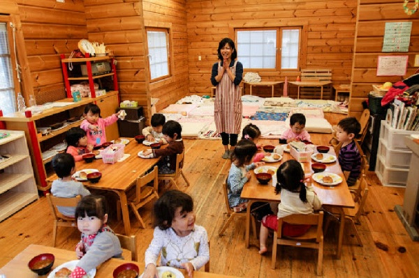 Japanese children do not take the exam until they reach the fourth grade