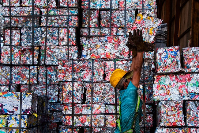 Great Deal Of Recyclable Material Is Exported