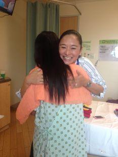 energy hug from Sis Rissa Singson-Kawpeng