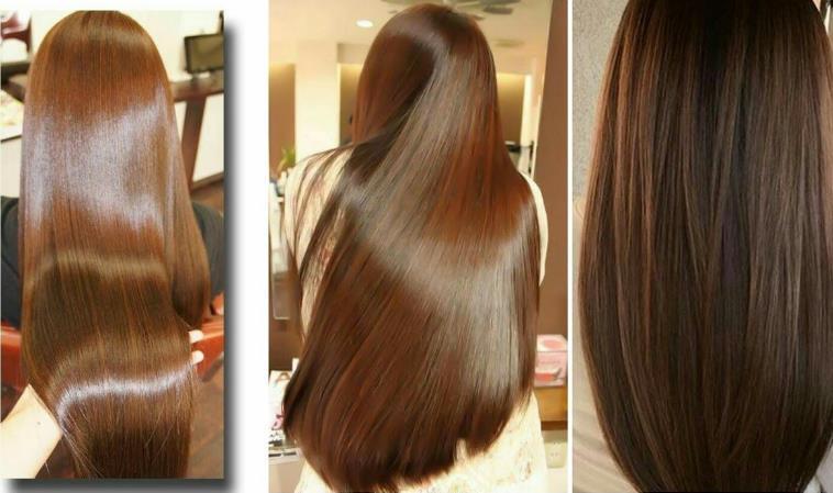 شعرك ناعم كالحرير