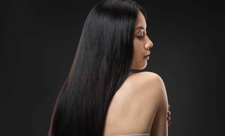فتاة شعر