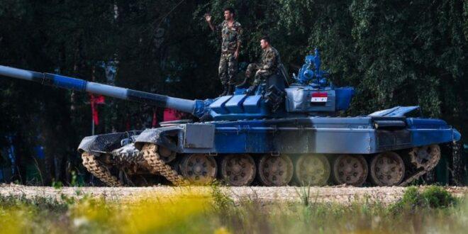 لأول مرة في سوريا .. مسابقة بياتلون الدبابات في دمشق ( فيديو )