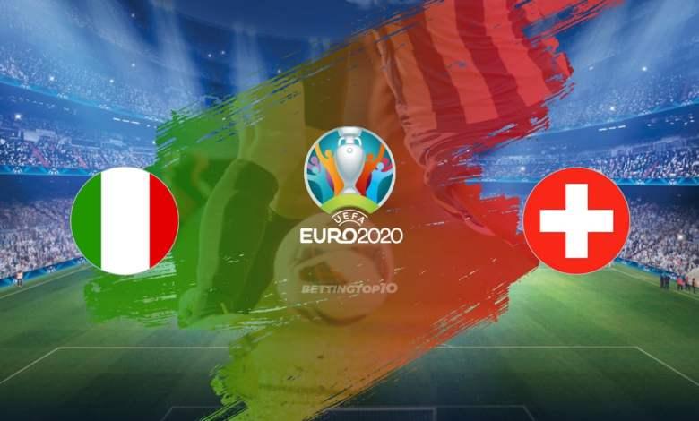 موعد مباراة إيطاليا ضد سويسرا اليوم والقنوات الناقلة .. بطولة يورو 2020 - 2021
