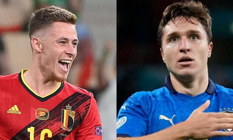 مشاهدة مباراة إيطاليا وبلجيكا بث مباشر يلا شوت متعدد الجودة .. كأس أمم أوروبا 2021