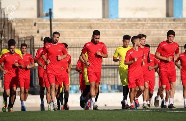 منتخب سوريا ( الأولمبي ) يستعد لتصفيات اسيا 2022