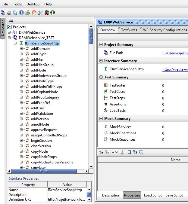 List of webservice APIs