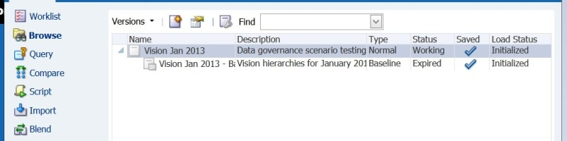 Oracle Data Relationship Sample Application