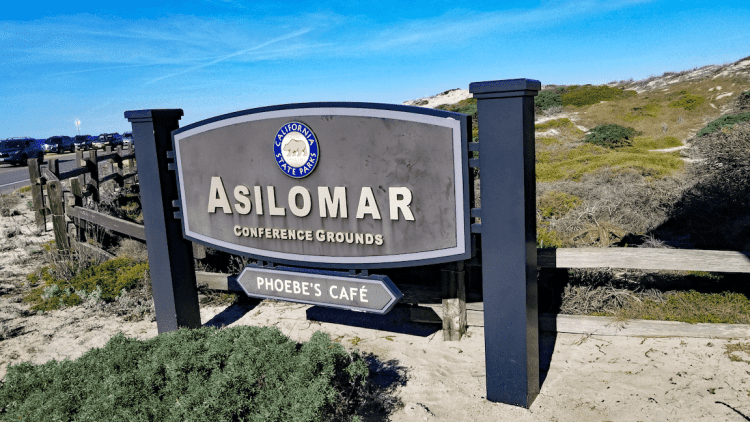 This pathway connects Asilomar Conference Grounds to Asilomar State Beach