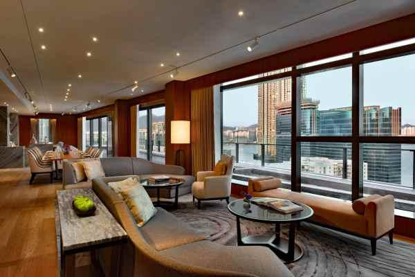 A look at one of the spacious presidential suites