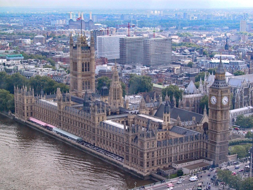 The Parliament Building and Big Ben Clock - a Top 10 Reason to Study Abroad