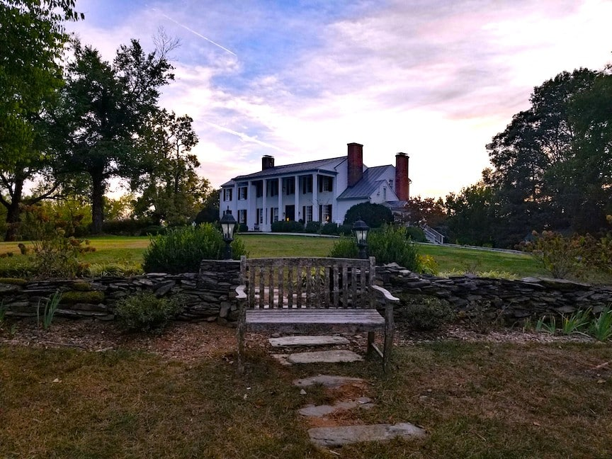 The Clifton Inn at Dusk, Charlottesville, Virginia