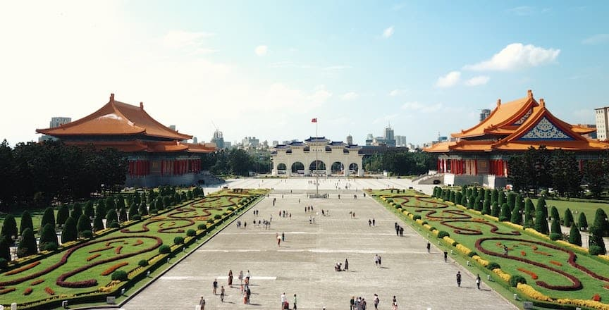 Asia's most Instagrammable cities - Landscape photo of Chiang Kai-shek Memorial Hall, Taipei