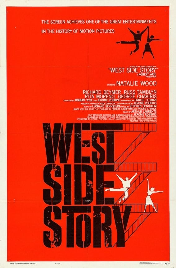 Official poster for West Side Story