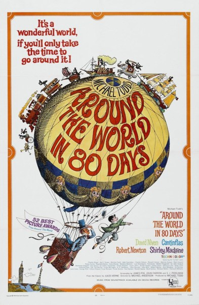 Official movies poster for Michael Todd's Around the World in 80 Days