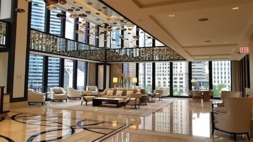 Langham Chicago will have enhanced cleaning standards in public spaces