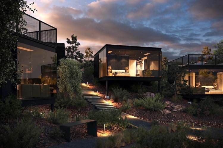 Cube rooms at Ambiente Sedona hotel