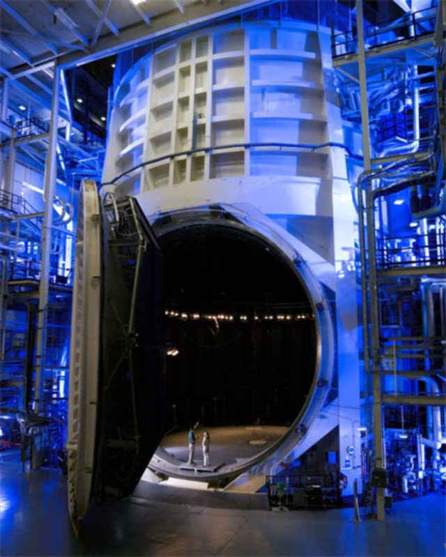 Vacuum Chamber A The massive Chamber A is still in use today. NASA