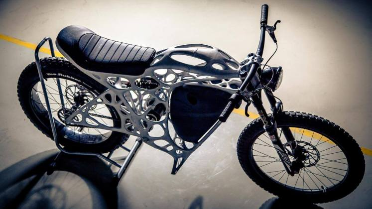 The World's First 3D-Printed Electric Motorcycle