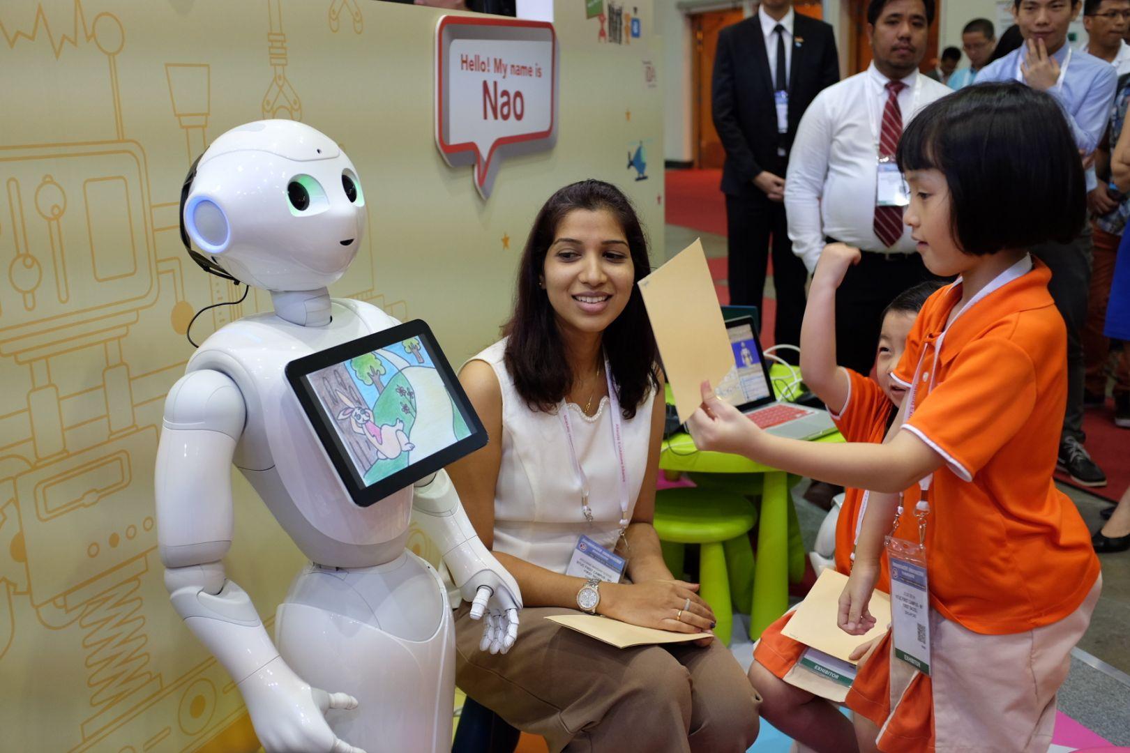 Do Robots Make Good Teachers?