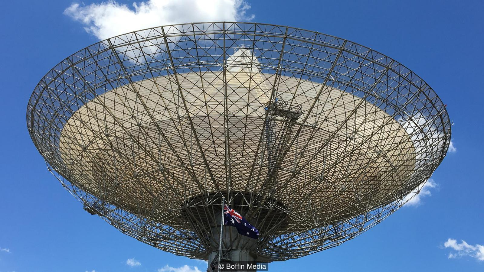 Inside the Parkes Radio Telescope That Brings Historical Moments From Space