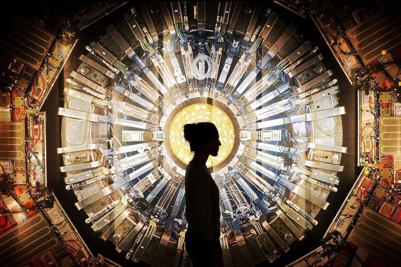 Can the Phenomena of Ghosts Be Proved or Disproved by the Large Hadron Collider?