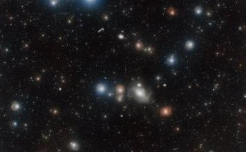 The Fornax Cluster is one of the closest and richest galaxy clusters to our own Milky Way galaxy.