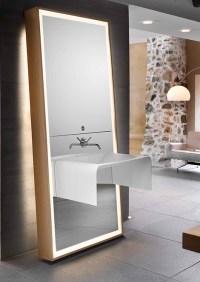 ideas for bathroom mirrors 2017 - Grasscloth Wallpaper