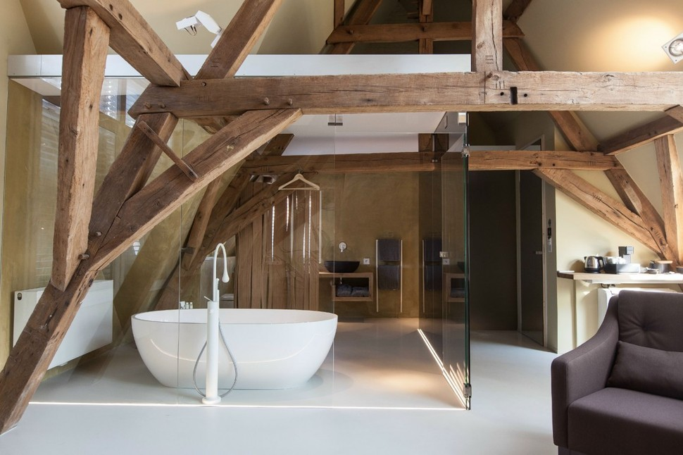 Modern Rustic Inspiration From Belgium Features Exposed